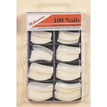 millennium 100 assorted nail tips