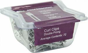 DMI LJ Double Prong Curl Clips (72)