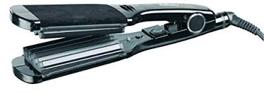 Babyliss Pro Extra Wide Crimping Irons Black Plates